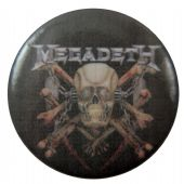 Megadeth - 'Killing is My Business' Button Badge